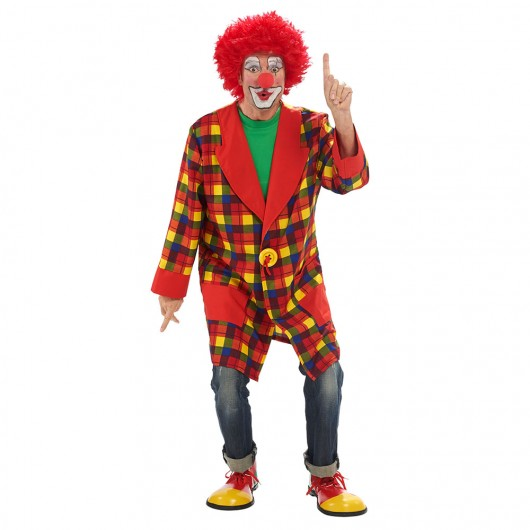Clown jas heren