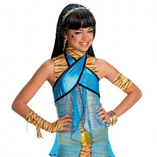 Monster High Cleo de Nile pruik kind