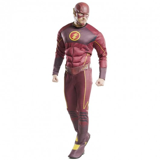 The Flash deluxe kostuum heren