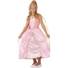 Prinses met Cape verkleedkleding kind