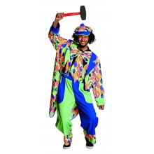 Clownbroek verkleedkleding heren