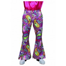 Hippie broek heren funky colours