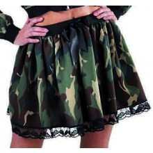 Camouflage rok dames