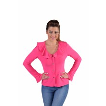 Jersey bloes dames roze