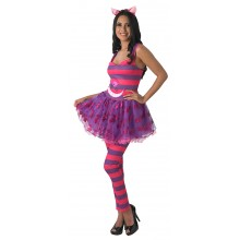 Miss Cheshire Cat verkleedkleding dames