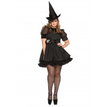 Bewitching Witch kostuum dames plus
