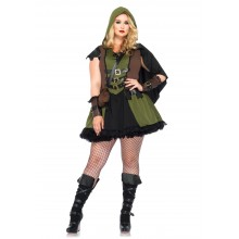 Darling Robin Hood kostuum dames plus