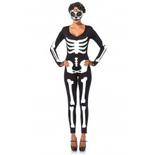 Skeleton Catsuit kostuum dames