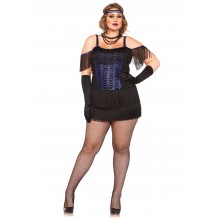 Gatsby Flapper kostuum dames plus