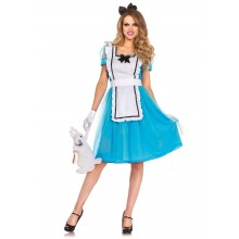 Classic Alice in Wonderland kostuum dames