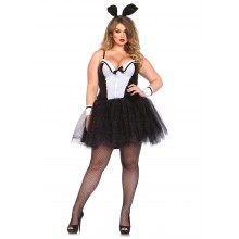 Shapewear Costume Bunny kostuum dames plus