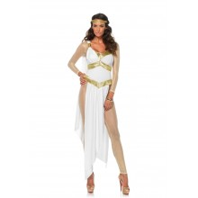 Golden Greek Goddess kostuum dames