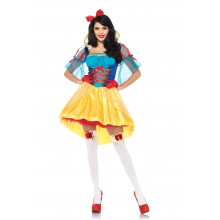 Storybook Snow White kostuum dames