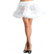 Petticoat dames plus wit