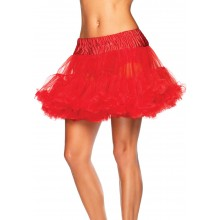 Petticoat dames plus rood