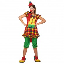 Clown kostuum dames