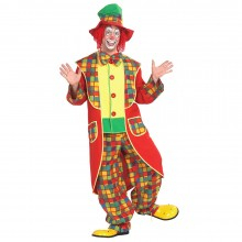 Clown kostuum heren