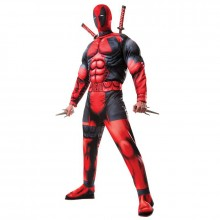Deadpool kostuum heren