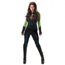 Guardians of the galaxy Gamora kostuum dames