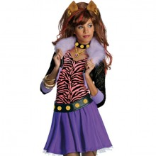 Monster High Clawdeen Wolf pruik kind