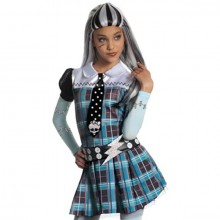 Monster High Frankie Stein pruik kind