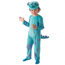 Monsters University Sulley deluxe kostuum kind