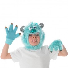 Monsters University Sulley set kostuum kind