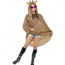 Party Poncho giraffe