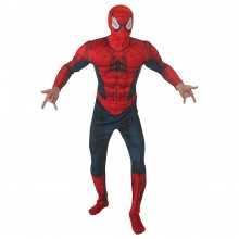 Spiderman ultimate deluxe kostuum heren