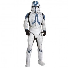 Star Wars Blue Clone Trooper deluxe kostuum kind