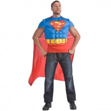 Superman dress up kostuum heren