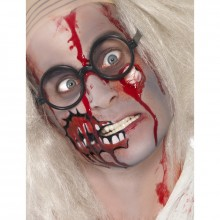 Zombie make up set latex oog